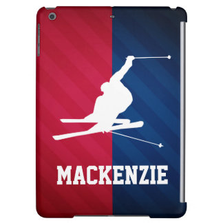 Snow Ski; Red, White, and Blue iPad Air Case