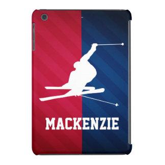 Snow Ski; Red, White, and Blue iPad Mini Retina Cases