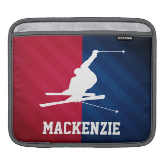 Snow Ski; Red, White, and Blue Sleeve For iPads