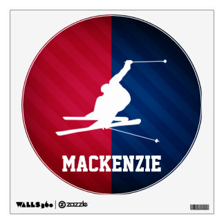 Snow Ski; Red, White, and Blue Wall Decor