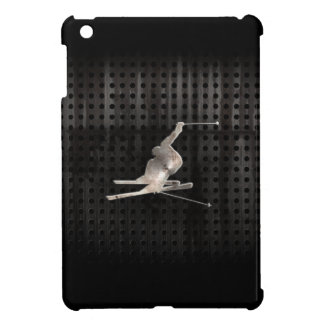 Snow Skiing; Cool Black Case For The iPad Mini