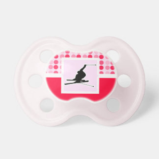 Snow Skiing Pacifier