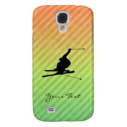 Snow Skiing Samsung Galaxy S4 Cover
