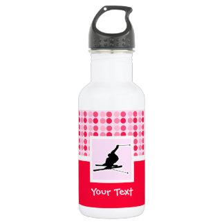 Snow Skiing Water Bottle