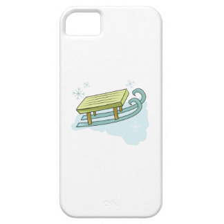 Snow Sled iPhone 5 Cases
