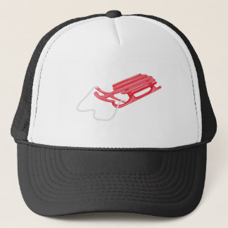 Snow Sled Trucker Hat