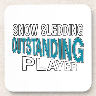 SNOW SLEDDING OUTSTANDING PLAYER COASTER