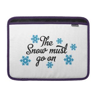 snow sleeve fürs MacBook air