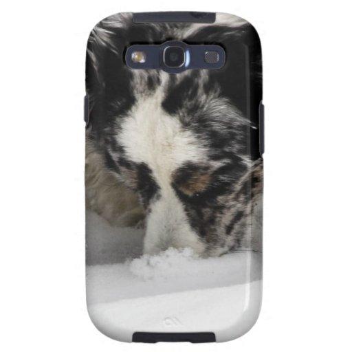 Snow Snout Corgi Galaxy SIII Covers