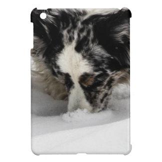 Snow Snout Corgi iPad Mini Covers