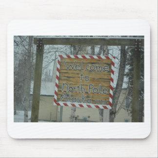 Snow Snowflake Frozen Weather North Pole Alaska Mouse Pad