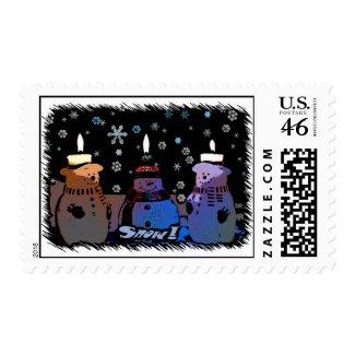 Snow! Snowmen Postage 1 stamp