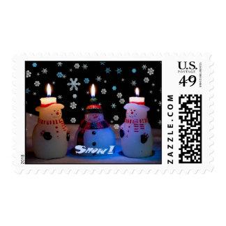 Snow! Snowmen Postage 2