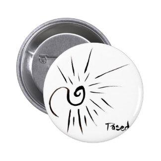 Snow Spark 2 Inch Round Button