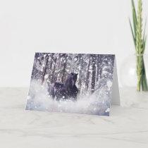 Snow Splash Holiday Card