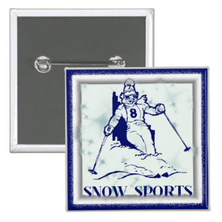 SNOW SPORTS Button