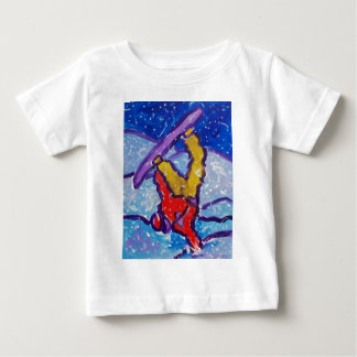 Snow Sports by Piliero Baby T-Shirt