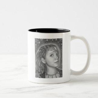 Snow Sprite Two-Tone Coffee Mug