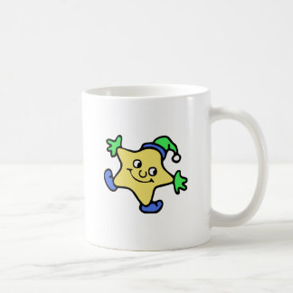 Snow Star Classic White Coffee Mug