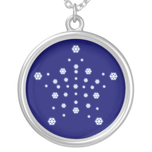 Snow Star Necklace