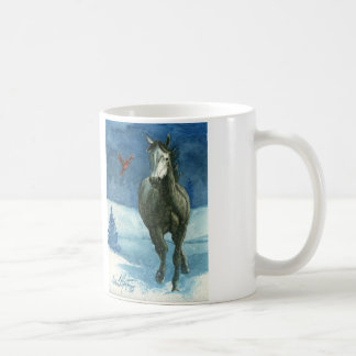 Snow Tag Mustang Classic Mug