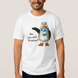 snow tee shirt