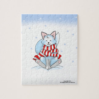 Snow the Winter Fox Puzzle