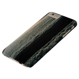 Snow Themed, Wonderful Frozen Grass Line Landscape Barely There iPhone 6 Plus Case