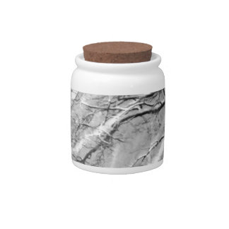 snow trails candy jars