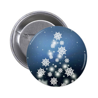 Snow Tree Button