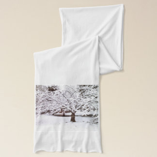 Snow Tree Scarf