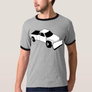 snow truck plow t shirt