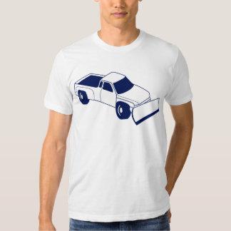 snow truck plow tee shirt