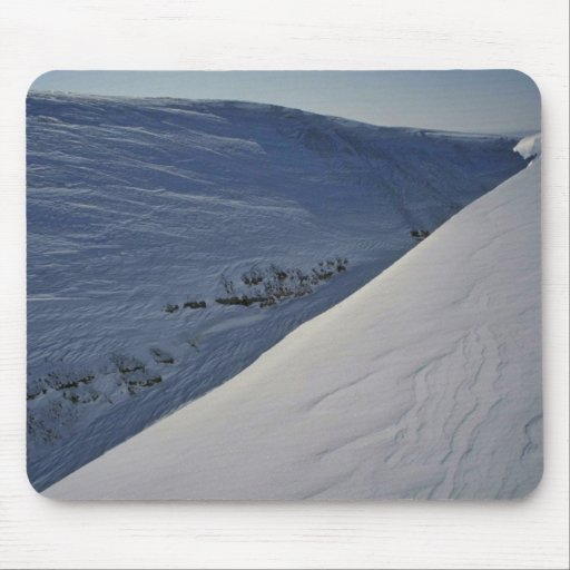 Snow Valley Mouse Pad