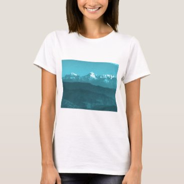 Professional Business Snow views of Chinese Mountains from Almora Hills T-Shirt