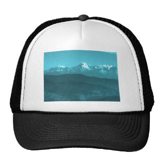 Snow views of Chinese Mountains from Almora Hills Trucker Hat