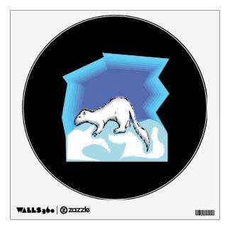 Snow Weasel Wall Sticker
