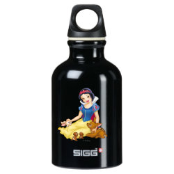 SIGG Traveller Water Bottle (0.6L) with Disney Princess Snow White with cute furry animal friends design