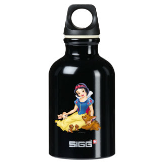 Snow White and Animal Friends Aluminum Water Bottle