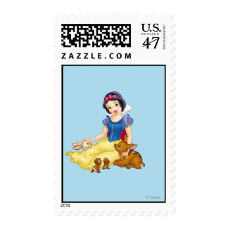 Snow White and Animal Friends Postage Stamp