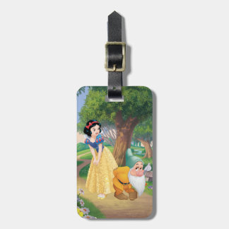 Snow White And Bashful Bag Tag