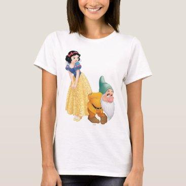 Disney Themed Snow White And Bashful T-Shirt