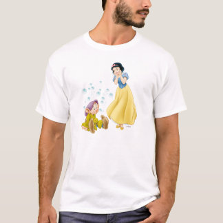 Snow White and Dopey Bubbles T-Shirt