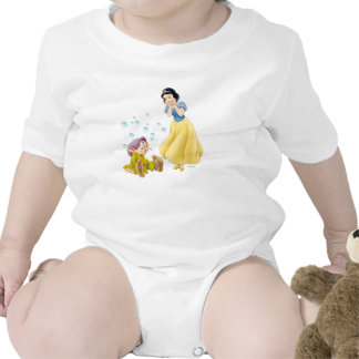 Snow White and Dopey Bubbles Tshirt