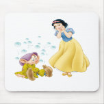 Snow White and Dopey Mousepads