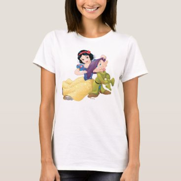 Disney Themed Snow White And Dopey T-Shirt