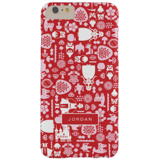 Snow White and Friends Pattern | Add Your Name Barely There iPhone 6 Plus Case