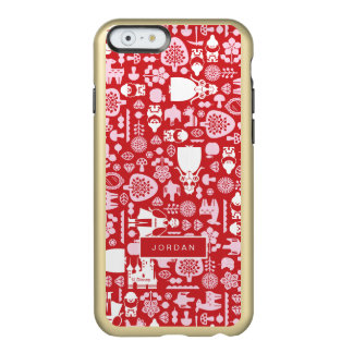 Snow White and Friends Pattern | Add Your Name Incipio Feather Shine iPhone 6 Case