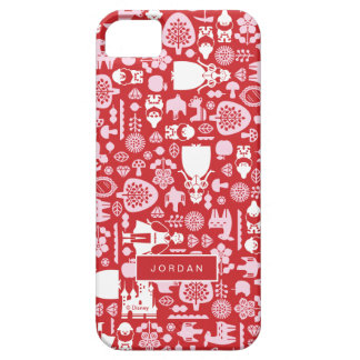 Snow White and Friends Pattern | Add Your Name iPhone SE/5/5s Case