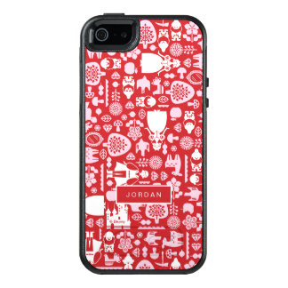 Snow White and Friends Pattern | Add Your Name OtterBox iPhone 5/5s/SE Case